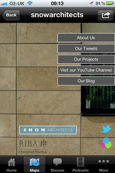 Menu Page - Architect map mini app