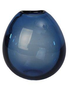 Vintage Holmegaard soap bubble glass vase by Per Lutken - $110.