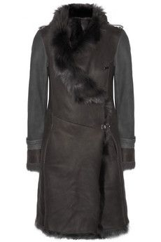 Karl Donoghue Shearling coat | THE OUTNET