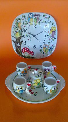 ceramica come mestiere: SERVIZI DA CAFFE'