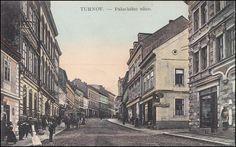 Turnov - Hluboká ulice 1928