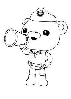 Coloring Pages The Octonauts Drawing | PARTY: birthday ...