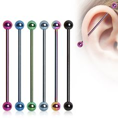 Anodized Ball Industrial Bars