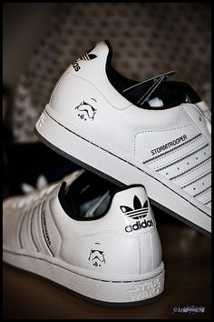 076f798e321124 Adidas Stromtrooper Superstar II shoes Star Wars Shoes