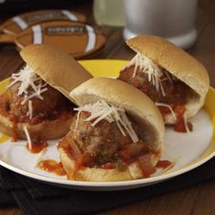 Puttanesca Meatball Sliders Recipe from Taste of Home -- shared by Amy Coeler of Lemoore, California