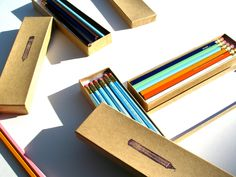 Your place to buy and sell all things handmade Pencil Boxes, Graphite, Hand Stamped, Back To School, The Selection, Unique Jewelry, Handmade Gifts, Cases, Gift Ideas