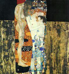Les 3 âges de la femme, par Gustav Klimt