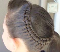 Como hacer peinados con trenzas para niña - peinados de trenzas estilo princesa