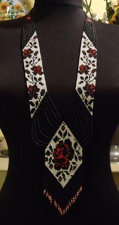 Free Shipping!!! Ukrainian Handmade Jewelry Beaded Necklace ,Gerdan