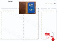 Field Notes Cover Pattern – PDF