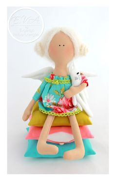 """Мастерская текстильной куклы """"E.V.A. by Evgeniya Ambartsumyan"""": Принцесса на горошине"""