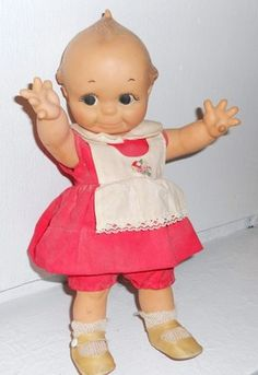 """VINTAGE 11"""" Kewpie Doll by Cameo Vintage Rose O'Neill Available now!  ~ Check out our listings ~ OrphanTreasures Dolls Dolly 