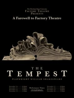 Tempest Poster - Yahoo Canada Image Search Results