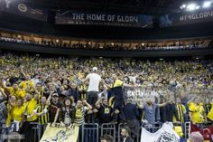 BERLIN, GERMANY - MAY 15: Supporters of Fenerbahce are seen... #are: BERLIN, GERMANY - MAY 15: Supporters of Fenerbahce are seen… #are