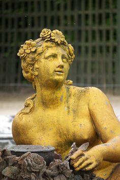 Flore Le bassin de Flore, le château de Versailles