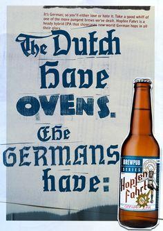 German Beer. Word.