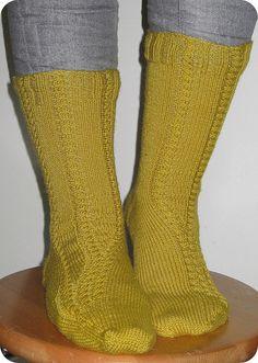Traveler's socks by Stefanie Bold
