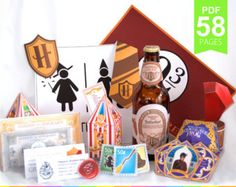 Harry Potter Party Package- Harry Potter Gift Ideas- etsy.com