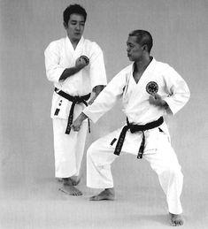 Open-hand block, pressing block, backfist punch