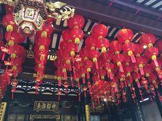 Farolillos de Año Nuevo chino