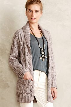 Zipped Griffin Cardigan #anthropologie  online exclusive