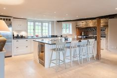 Jonathan Randall - Handmade Kitchen Company in Gloucestershire Handmade Kitchens, Granite, Island Kitchen, Wood, Bespoke, Table, House, Furniture, Home Decor