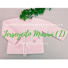 Crochet Baby, Knit Crochet, Knitting Videos, Baby Cardigan, Knitting For Kids, Craft Tutorials, Make It Yourself, Sewing, Youtube