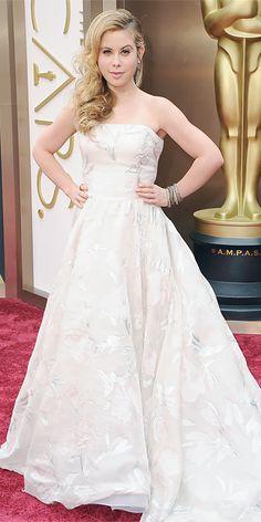 Oscars 2014 Red Carpet Arrivals - Tara Lipinski from #InStyle
