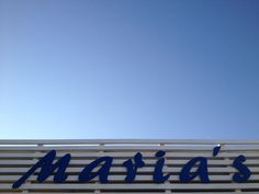 Marias Beach Restaurant. Central Algarve. Portugal