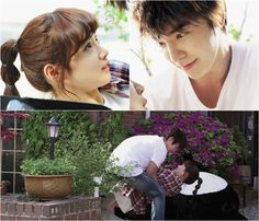 """Added new images for the upcoming Korean drama """"Panda and Hedgehog"""""""