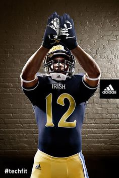 Notre Dame took a chance with this uniform. Even though older fans might not like the uniform it will pay big dividends with recruiting.