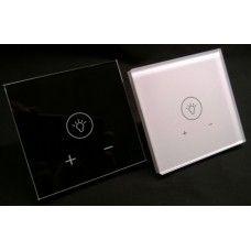 LED downlight 220V : Dimmer 220v med glassfront og touch