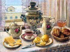 Гайдук Ирина. Утренний чай 2