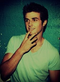 Beau Mirchoff. I always forget to do my captions. So I'm doing this one. He's hot. The end.