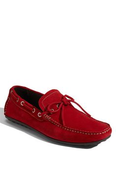 mens shoes, red, casual