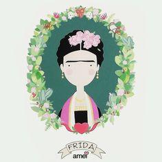 Flores na cabeça para mentes bonitas 🌸🙆🌵 Boa terça  #lojaamei #bomdia #fridakahlo #mulher #flores #muitoamor #mexicana