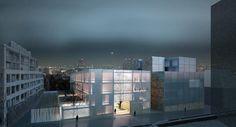 Bryła AIKI - nowa ambasada finlandii w Tokio autorstwa architektów z biura Lahdelma & Mahlamäki Architects