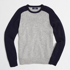 J.Crew Factory - Factory lambswool colorblock sweater