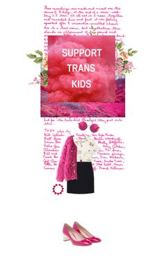 """""""SUPPORT TRANS KIDS"""" by velvet-violets ❤ liked on Polyvore featuring art"""