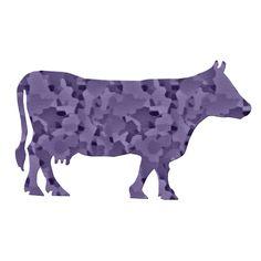 Purple Cow image via Shutterstock