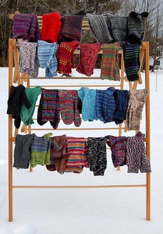 I think I need one for my room so we can hang our winter mittens and hats to dry!