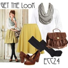 Just change the heels to oxfords and this would be one of my my winter/fall uniforms