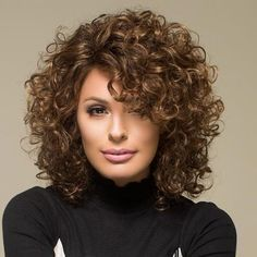 30 New Haircuts and Hairstyles for Short Curly Hair in 2020 Layered Curly Haircuts, Messy Bob Hairstyles, Haircuts For Curly Hair, Trendy Haircuts, Thick Curly Hair, Curly Hair Care, Curly Hair Styles, Curly Short, Beckham Hair