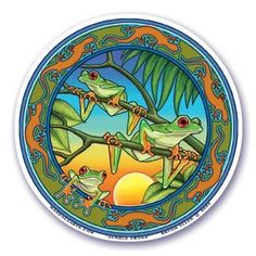 "Mandala Arts Tree Frog ""Jungle Frogs"" Window Sticker Deca... http://www.amazon.com/dp/B0069623WM/ref=cm_sw_r_pi_dp_ZVpoxb1Y7P14X"