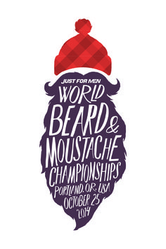 Just for Men. World beared and Moustache Championships