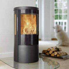 The Hwam 3630 is a contemporary wood-burning stove with side viewing lights. It is available with a cast door or a glass door and in black or a grey finish. The stove features the unique patented Hwam Autopilot automatic system, ensuring optimal combustion at all times. The stove is also available with the Autopilot IHS. The stove has a maximum heat output of 9kW (6kW at Nominal).