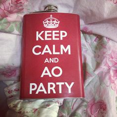 Keep calm and AOParty...need