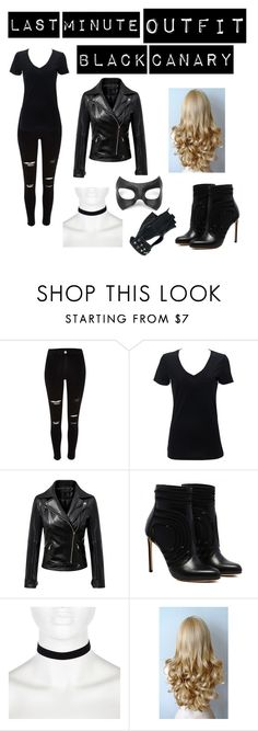 """#lastminutecostume"" by cami3241 ❤ liked on Polyvore featuring River Island, Chicnova Fashion, Masquerade, Wilsons Leather and lastminutecostume"