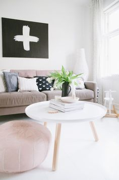 Living Room. From the Living With Kids Home Tour featuring Tina Fussell.  |  Design Mom