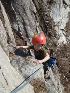 C's first completed outdoor climbs! #harnesskids @HarnessKids